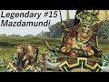 Legendary Lizardmen as Mazdamundi 15 TW Warhammer 2 Taking over the Greenskins
