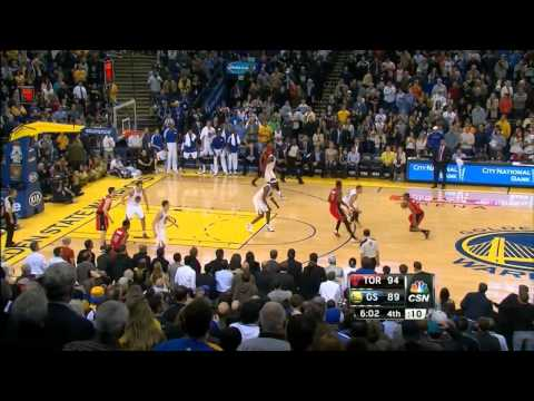 Golden State Warriors' 27 point comeback vs Raptors (2013.12.04)