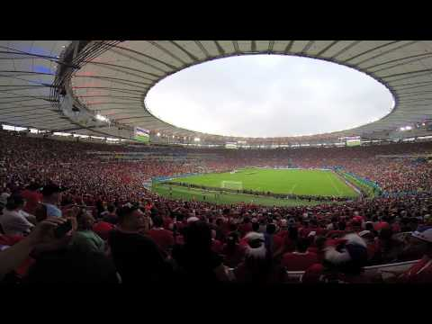 Himno de Chile - Chile vs España 2014 World Cup