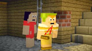 Minecraft - Chaves / Remake / Chegada do Chaves na Vila