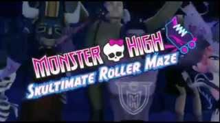 Monster High Skultimate Roller Maze Trailer Video Game