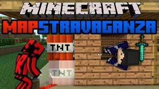 Minecraft Mapstravaganza! Magnae Domus, Amazing Terrible Parkour and Build Dig!