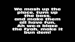 Skrillex & Damian Marley Make It Bun Dem(with Lyrics