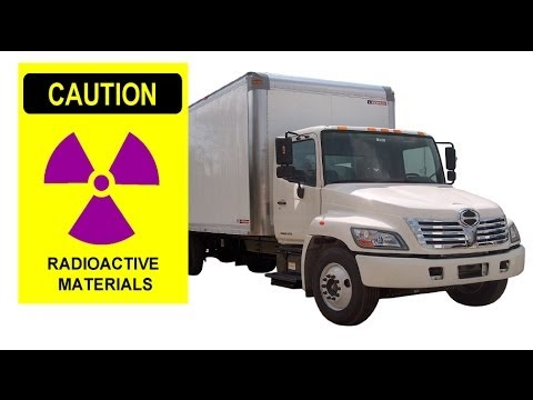 Stolen truck carrying radioactive material found in Mexico