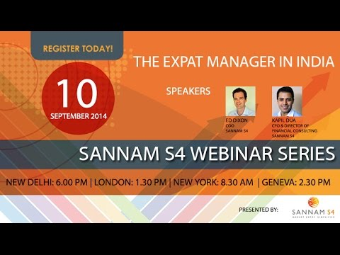The Expat Manager in India Webinar