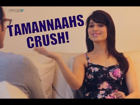 Sexy Tamannaah Bhatia REVEALS Her Crush From Bollywood On Freaky Fridays!
