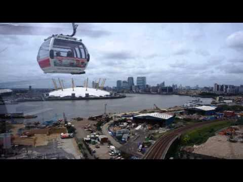 Emirates Air Line   Greenwich Peninsula Edgeware Greater London