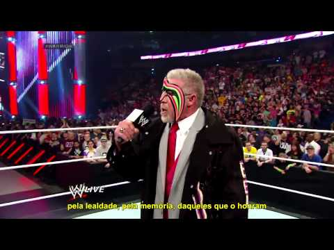 WWE RAW 07/04/14 - Ultimate Warrior Promo Legendado [PT-BR]