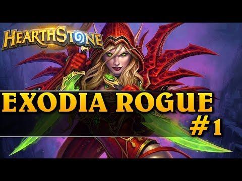 EXODIA ROGUE #1 - Hearthstone Decks wild