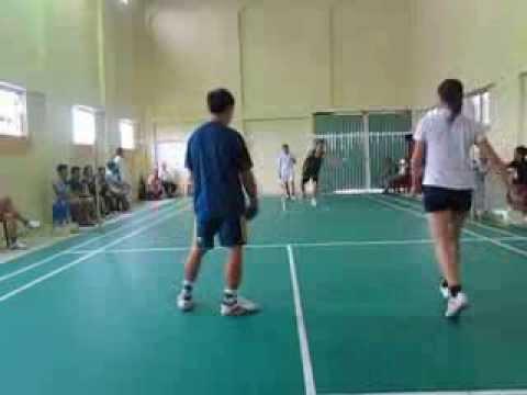 Giao lưu cầu lông câu lạc bộ xã Ngũ Hùng với huyện Phù Cừ Hưng Yên