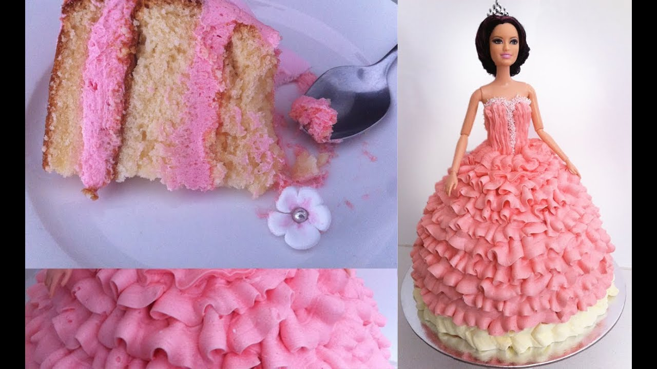 Birthday Cake Princess Doll Tutorial How To Cook That Ann