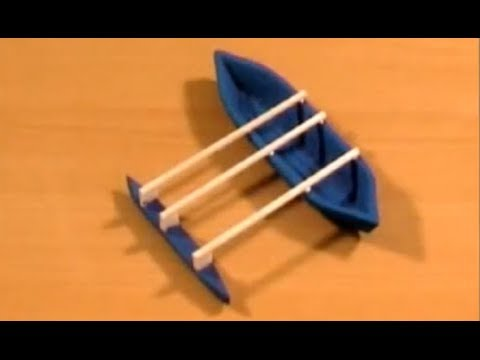 Como hacer una balsa en madera de balso