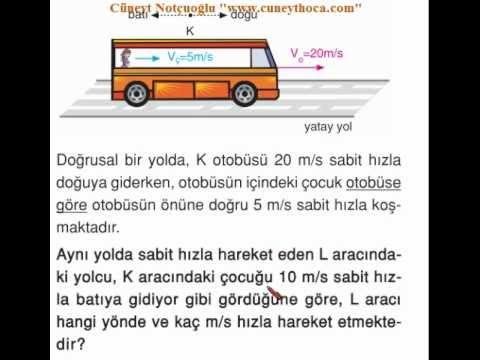 Bağıl Hareket _Ahmet_13.11.2012_Zor sorular