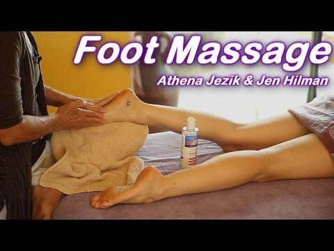 Foot Massage How To Techniques, Athena Jezik & Jen Hilman, Feet – Full Body Work Series