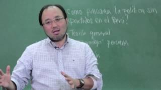 PUCP - ¿Cómo funciona la política sin partidos en el Perú? Aula Abierta con Martín Tanaka