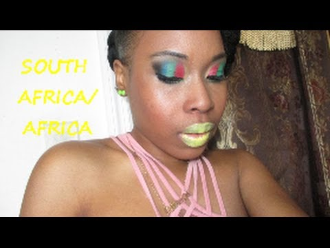 Makeup Tutorial: South Africa