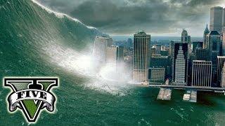 TSUNAMI EN GTA V Online Hack De Inundación En GTA 5