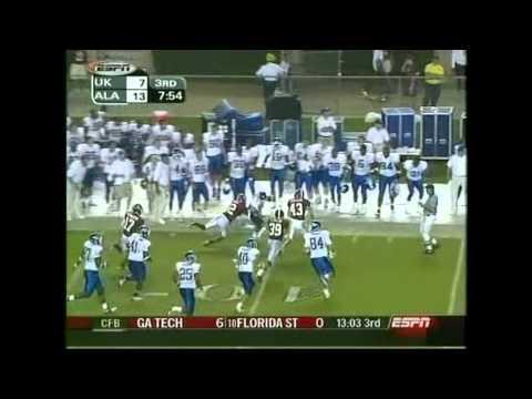 2003 Kentucky vs. Alabama Highlights