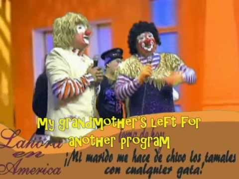 Laura en America parodia Dia internacional del payaso /El show de Pillino Manzanita y Congo  /5/