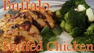 Atkins Diet Recipes: Low Carb Buffalo Stuffed Chicken (IF