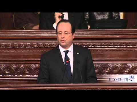 Intervention du president François HOLLANDE à l assemblee nationale constituante tunisie news