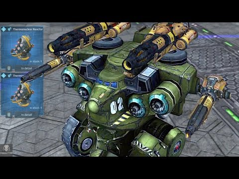 War Machine Natasha Melting Through Robots - Upgraded Tank Natasha Gameplay | WR