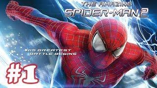 The Amazing Spider Man 2 Movie Game Walkthrough (1080P