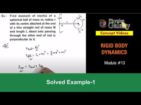 Solved Example on Rotational Motion (ROT11X1)