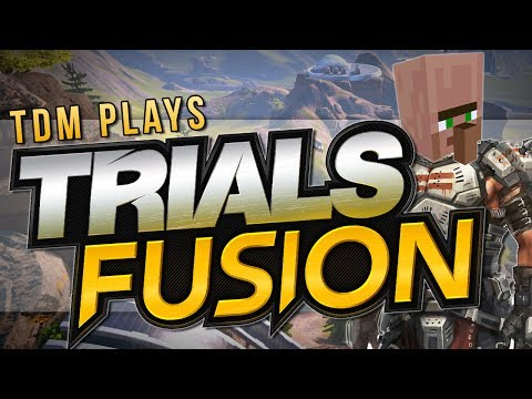 FPS IN TRIALS?! | Trials Fusion: Minigames | TDM Plays [Xbox One]