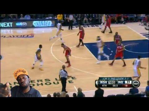 Washington Wizards vs Indiana Pacers game 5 Nba Playoffs 2014  3-2 Reaction