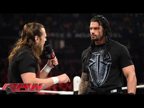 Daniel Bryan confronts Roman Reigns: Raw, February 23, 2015