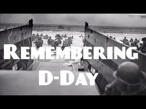 Remembering D-Day 70th Anniversary