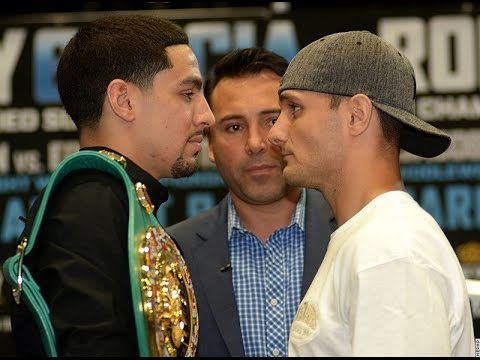 WHY IS DANNY GARCIA FACING  ROD SALKA?