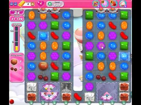 How to beat Candy Crush Saga Level 439 - 3 Stars - No Boosters - 117
