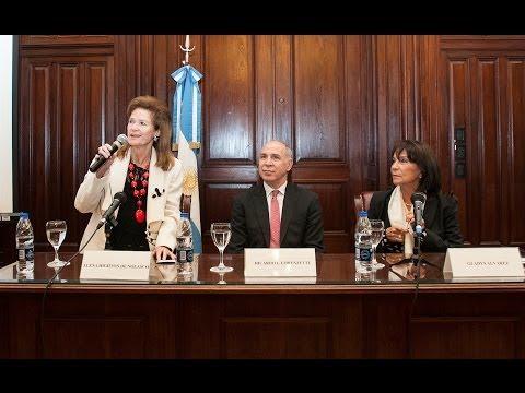 Elena Highton de Nolasco presentó este miércoles el mapa latinoamericano de acceso a justicia