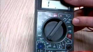 Cómo funciona un multímetro digital