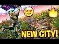 NEW CITY PRACTICE Fortnite Battle Royale PS4 Pro