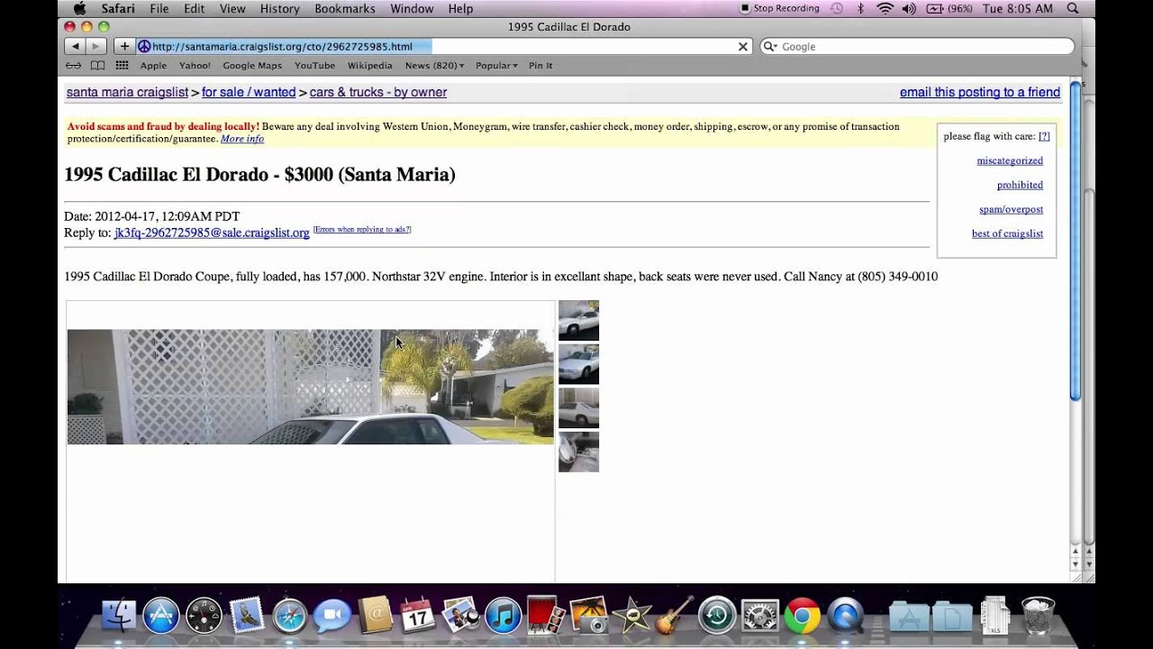Craigslist Santa Maria Ca Used Cars Suvs And Trucks