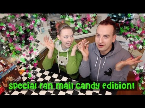 WTF - Special Fan Mail Foreign Candy!
