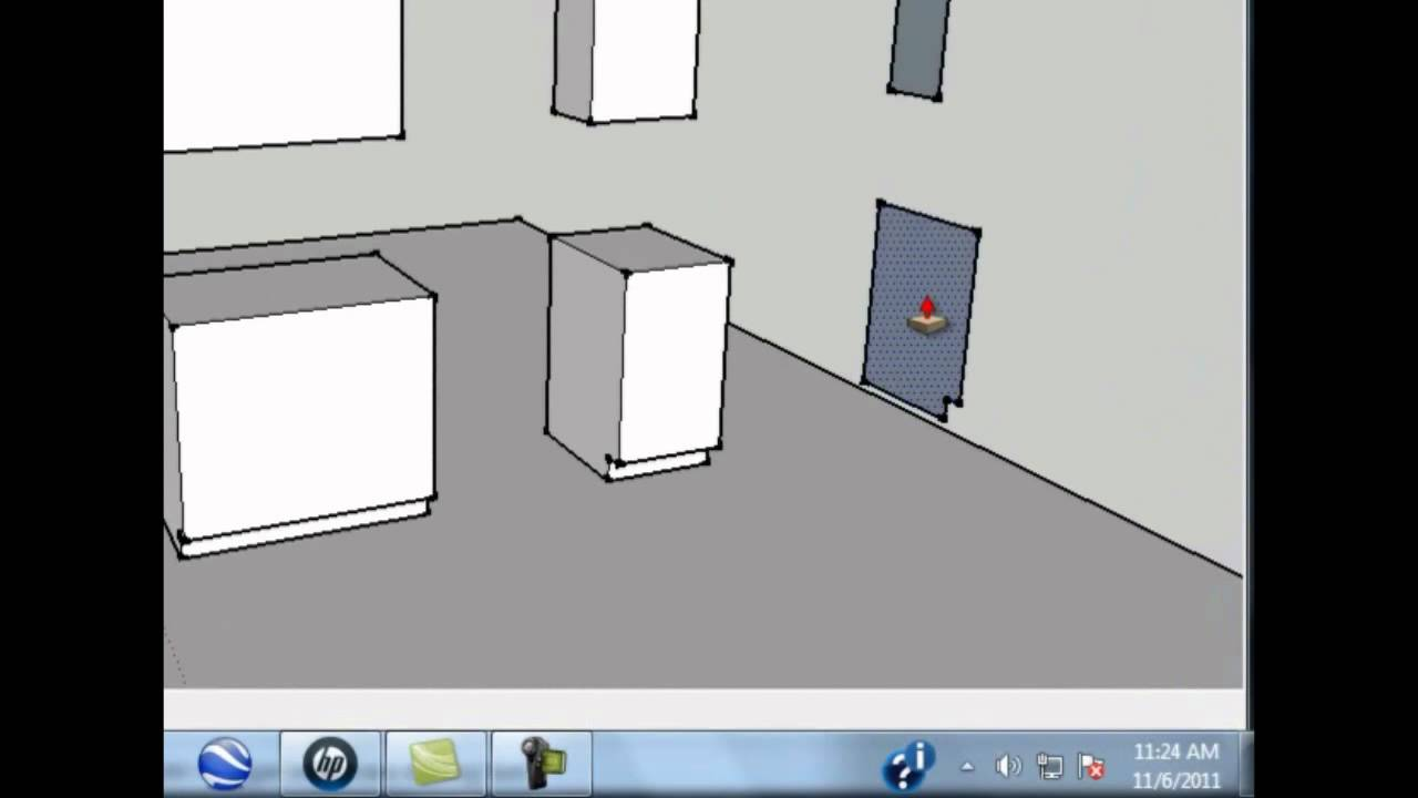 Sketchup tutorial kitchen designs made simple and easy part 2 youtube Kitchen design software google sketchup