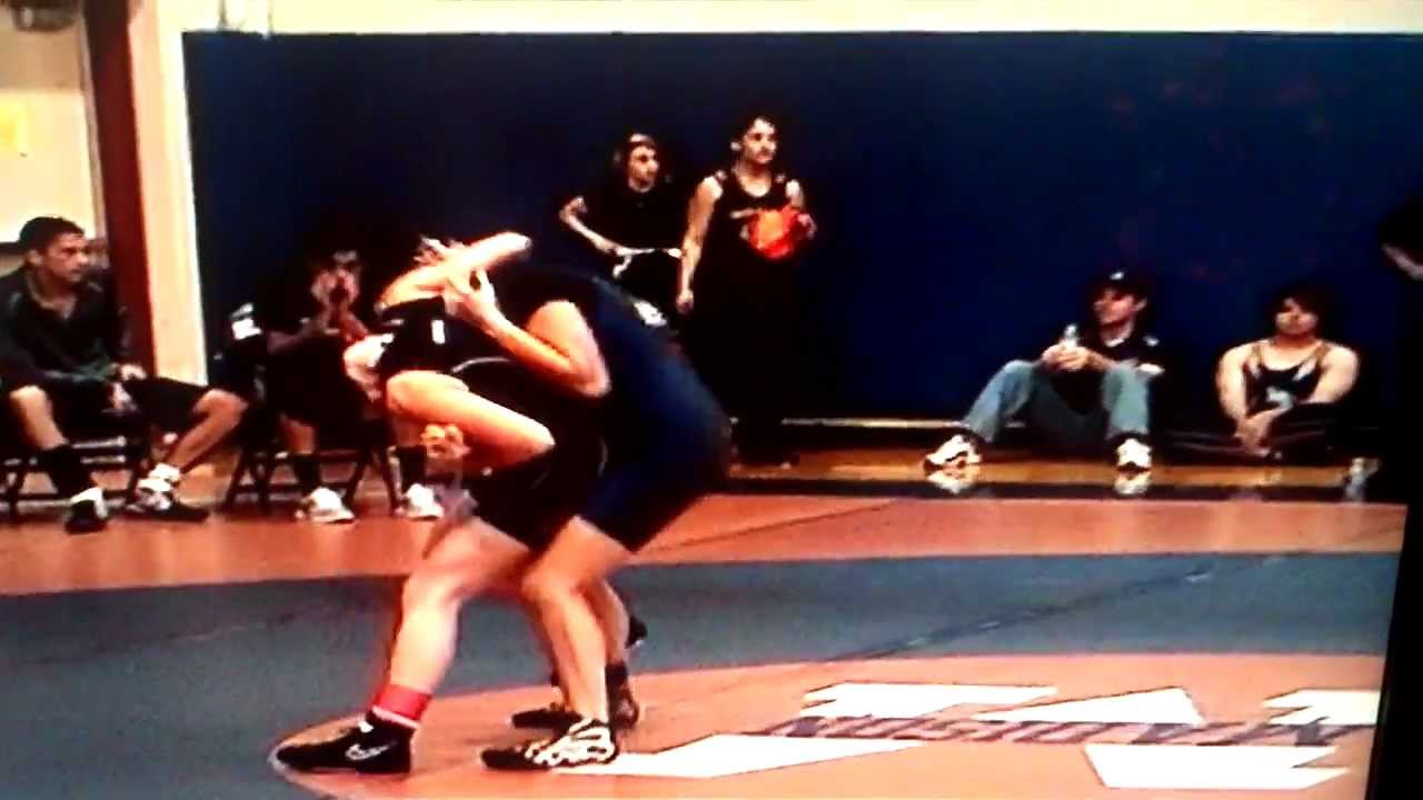5 year old wrestling 46 lbs - YouTube