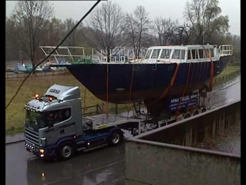 Sabesa trasporto barca