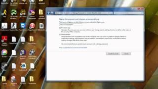 How To Make Or Delete User Accounts Laptop/Desktop (Windows 7)