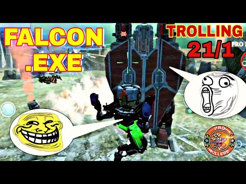 FALCON VS ARTHUR .EXE (WAR ROBOTS FUNNY MOMENTS)(EP-21/1)