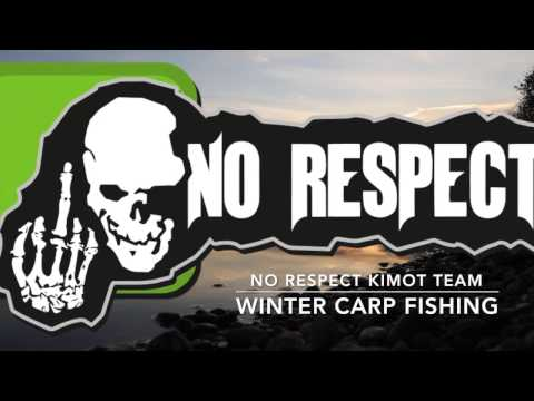 Winter carp fishing