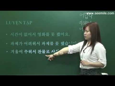 Hoc Tieng Han So Cap - Bai 03 - Tang Qua Cho Co Giao Thay Giao