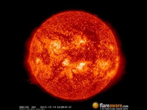 13 Dec - 14 Dec: 24 Hour Solar Activity (Earth Facing; Solar Storm, Sunspot, Solar Flare, CME)