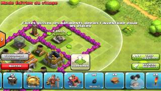 Clash Of Clans HDV7 : Speed Building [HD]