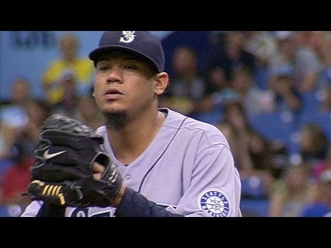 SEA@TB: Felix fans career-best 15 over seven frames