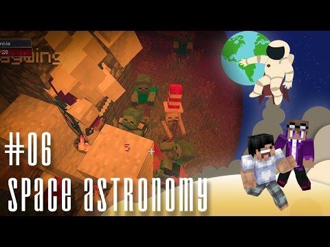 【Minecraft】Space Astronomy 天文太空冒險 模組生存 #06 - 超恐怖!紅月亮的晚上?!